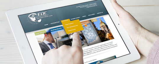Economic Development Corporation of Elkhart County Launches New Website