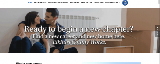 ElkhartCountyWorks.com Launches