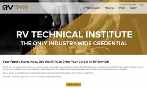 RV Tech Institute Launches Website, Online Classes