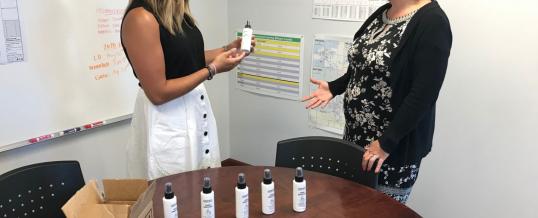 Two Elkhart nonprofits come together to teach entrepreneurship, lead sanitizer fundraiser